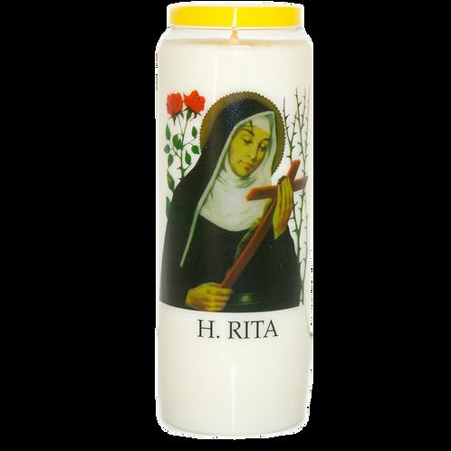 Noveen kaars van Heilige Rita