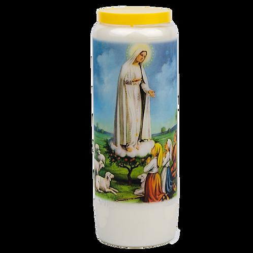 Noveen kaars van Fatima