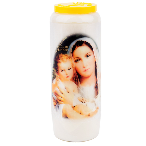 Novena candle for a Futur Mother