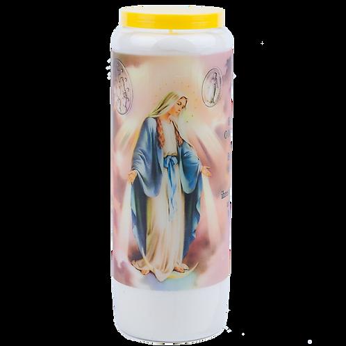 Novene Kerze Unserer Lieben Frau von Miraculous