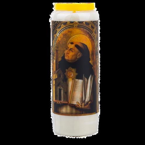 Novene Kerze van Heiliger Thomas von Aquin