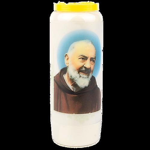 Novene Kerze Padre Pio