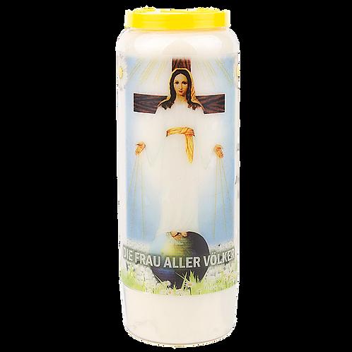 Novene Kerze Unsere Liebe Frau aller Völker