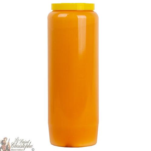 Bougie neuvaine Orange - Bougie de neuvaine Orange - Orange novena candle