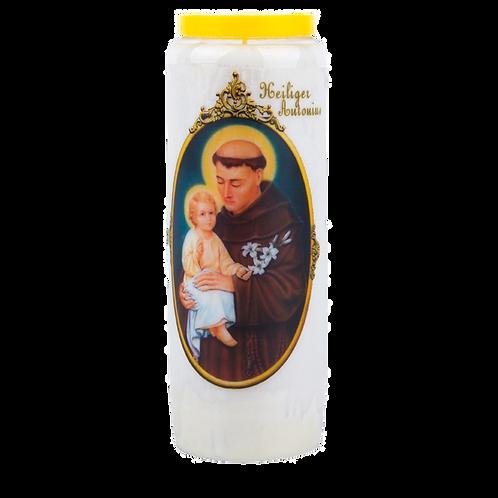 Novene Kerze van Heiliger Antonius