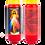 Novene Kerze rot van Christus barmherzig