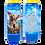 Thumbnail: Bougie neuvaine bleue - Saint Michel