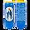 Bougie neuvaine bleue - Vierge Miraculeuse