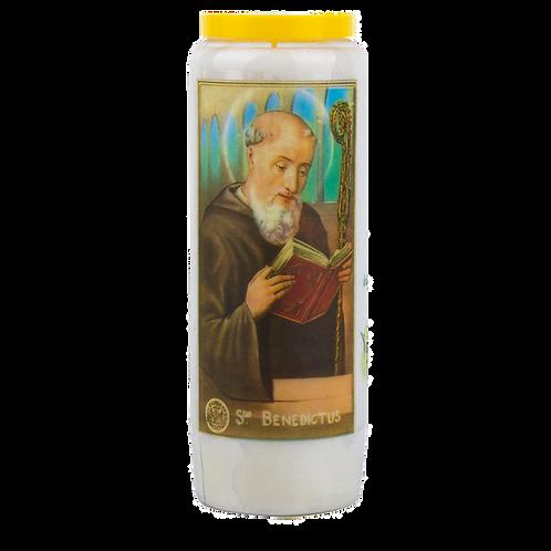 Novene Kerze van Heiliger Benedikt