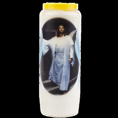 Bougie neuvaine de Jésus ressuscité