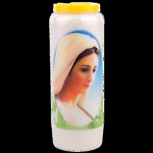 Bougie neuvaine de la Vierge Marie - 3