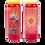 Bougie neuvaine rouge - Enfant Jésus de Prague