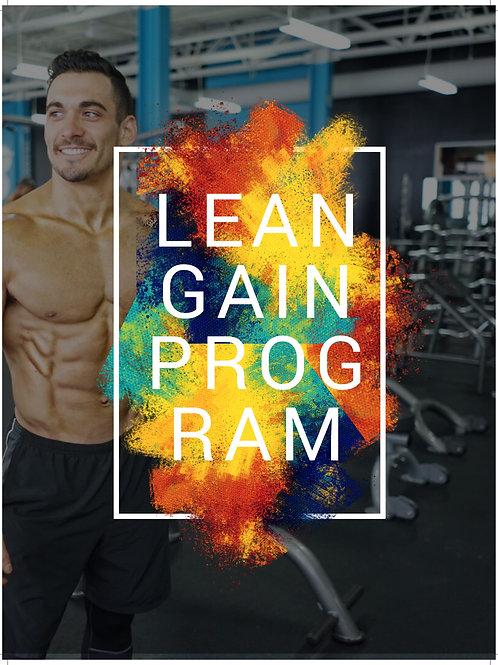5-Day Split LEAN GAIN Program (FREE DOWNLOAD LINK BELOW)
