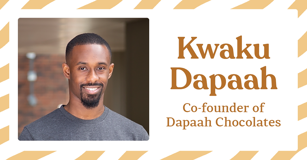 Kwaku Dapaah, co-founder of Dapaah Chocolates