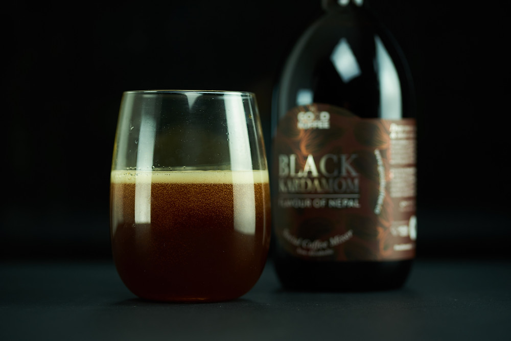 GOOD KOFFEE Black Kardamom Social Coffee Mixer inspired by the Flavour of Nepal.