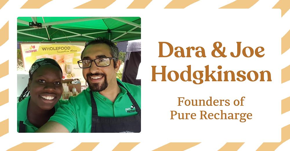 Dara & Joe Hodgkinson - Founders of Pure Recharge