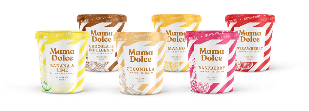Mama Dolce's 6 launch flavours