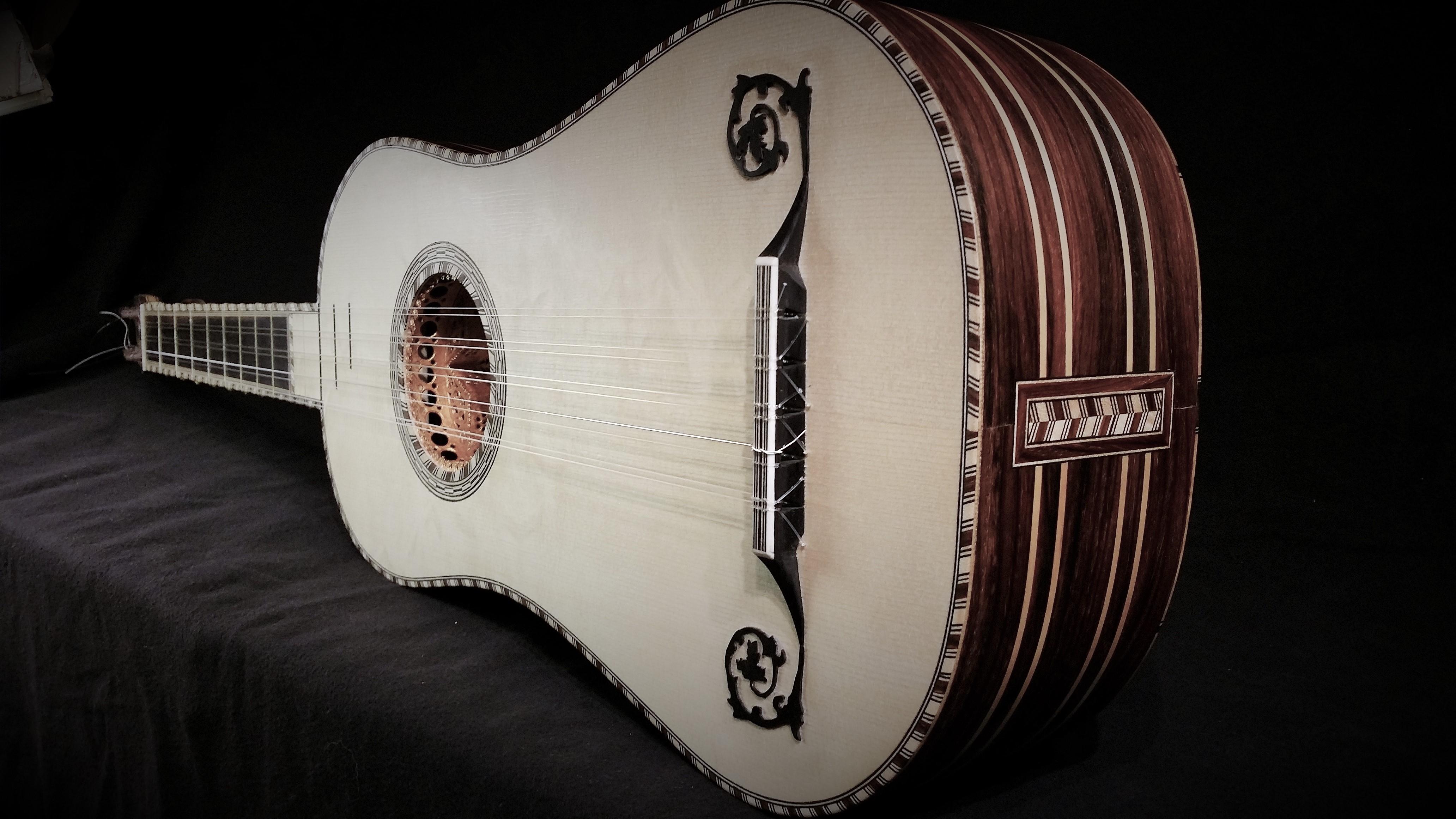 Baroque guitar 2014
