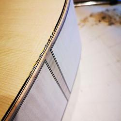Binding a new spruce/maple #classicalgui