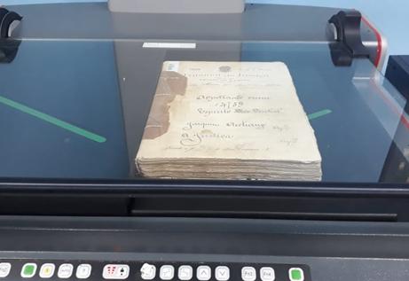 O arquivo histórico pinhalense está a todo vapor!