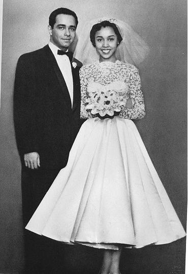 vestidos de novia 1955
