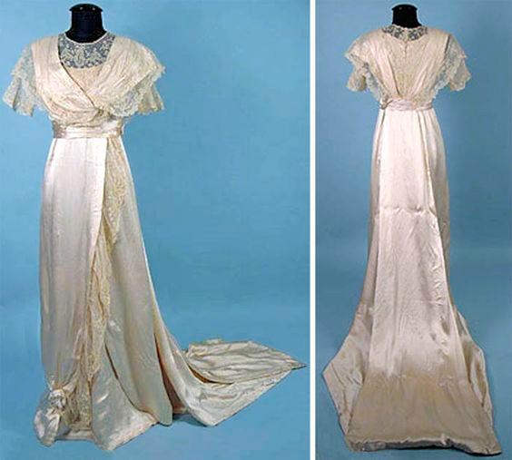 vestidos de novia 1925