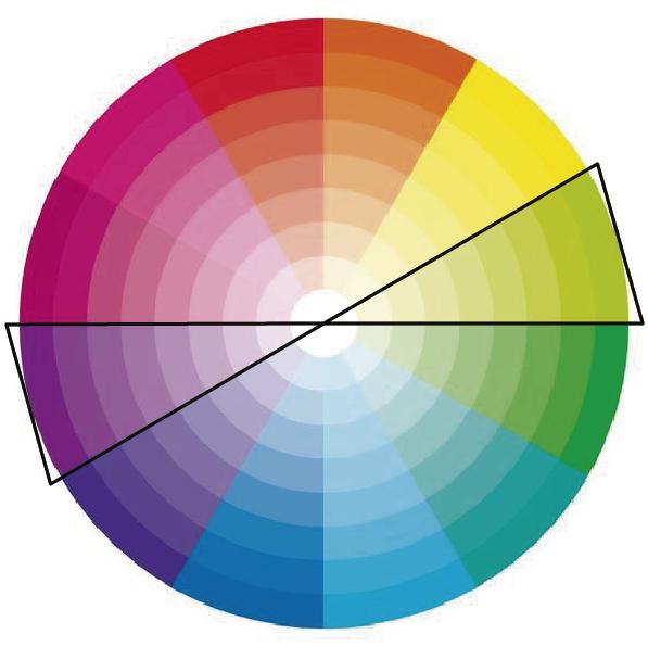 Colores Opuestos - Círculo Cromático