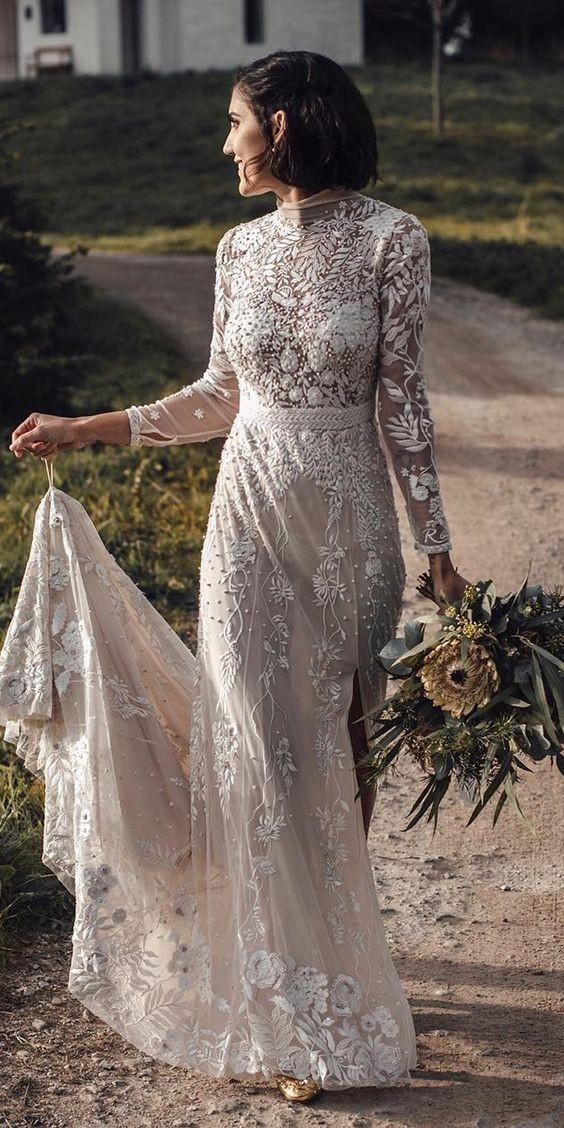 vestidos de novia actualidad