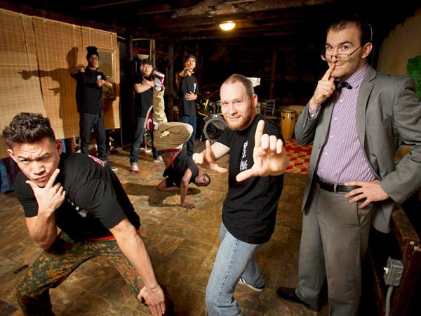 Co-Founders: Metal, Steve and Aaron