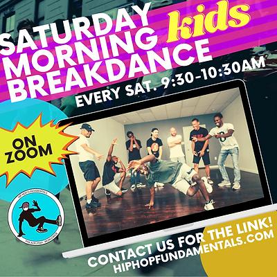 HHF Saturday Morning Free classes promo.