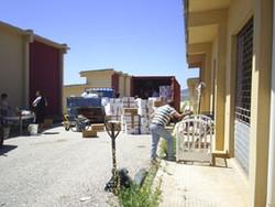 2007 - carico container