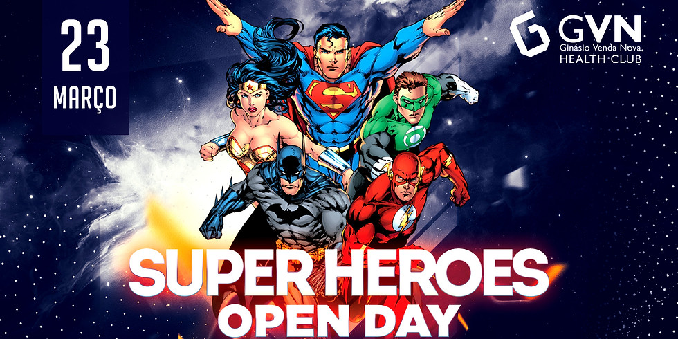 Super Heroes Open Day