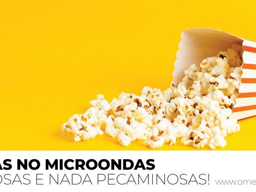 PIPOCAS NO MICROONDAS