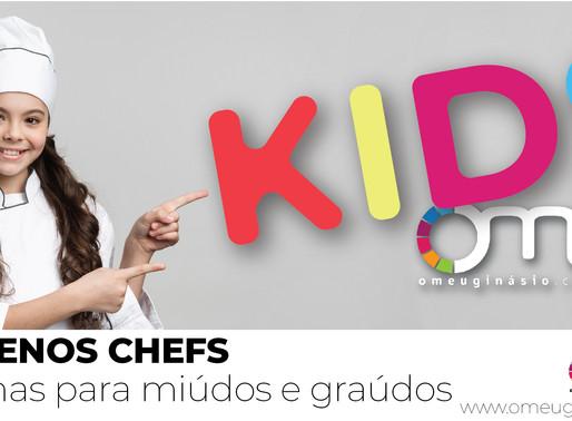 PEQUENOS CHEFS - Bolachas para miúdos e graúdos