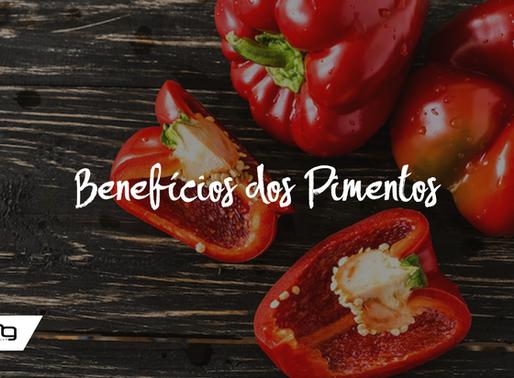 benefícios dos pimentos