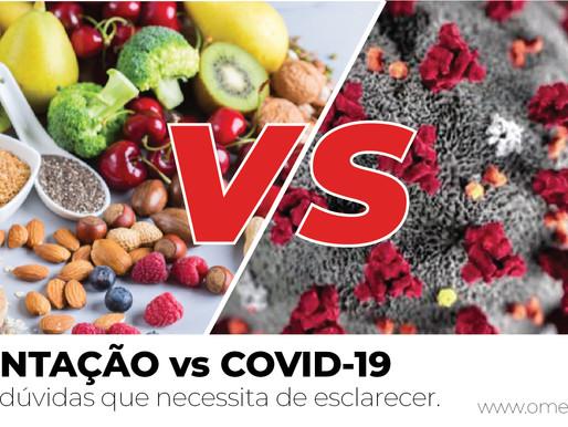 ALIMENTAÇÃO vs COVID-19 - Algumas dúvidas que necessita de esclarecer