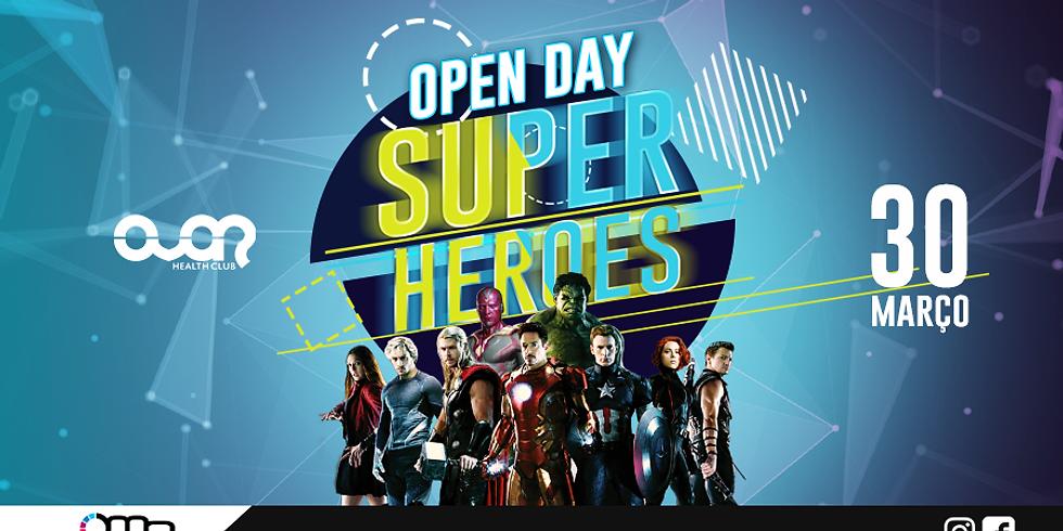 Open Day Super Heroes