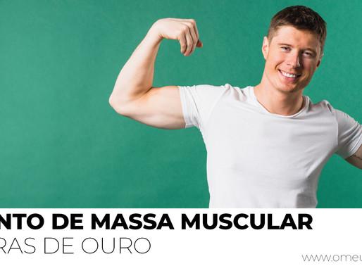 6 Regras de Ouro para o aumento de massa muscular