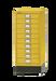 עשר מגירות צבע צהוב