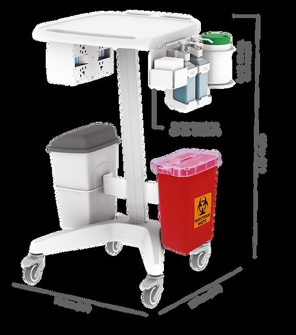 Hemodialysis Service Trolley