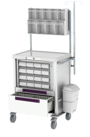 Premium Medication Cart