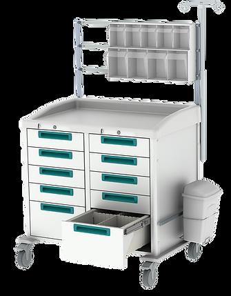 Premium Anesthesia Workstation Cart