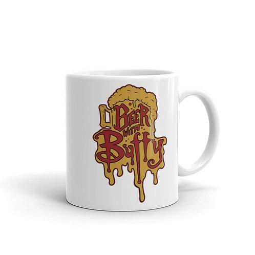Beer with Buffy mug