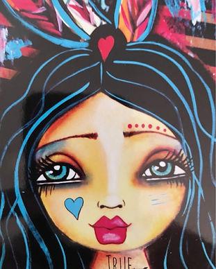Love Your Inner Goddess Truth Illustration