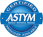 ASTYM Certified Provider Seal Champions Recovery Room