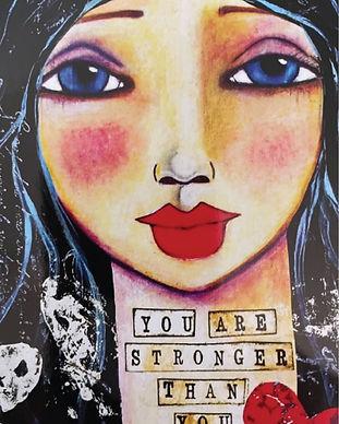 Love Your Inner Goddess Spirit Illustration