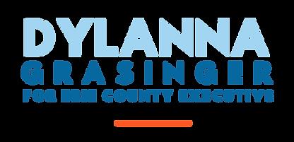 Dylanna Grasinger For Erie County Executive Logo