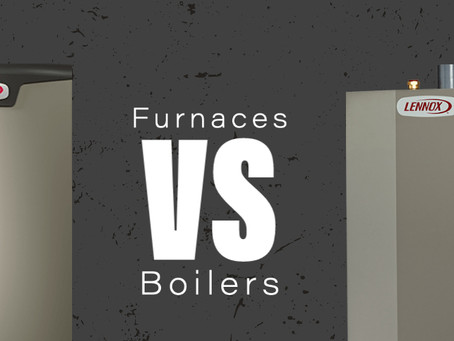 The Difference Between Furnaces & Boilers
