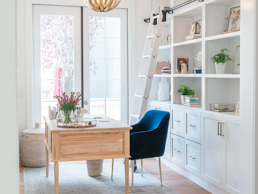 """""""Zoom Ready"""" Home Office Background Ideas"""
