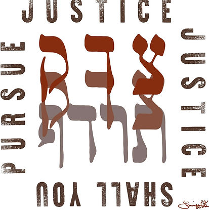 Shall You Pursue Justice graphic